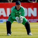 In hand: Gary Wilson wants Ireland to qualify for the T20 World Cup in impressive fashion