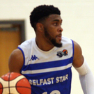 On the ball: Delaney Blaylock has settled in quickly at Belfast Star