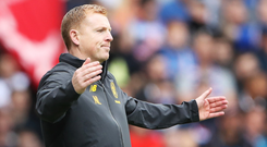Action time: Neil Lennon says players should walk off if racially abused like England