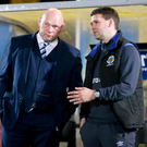 Facing off: David Jeffrey and David Healy are set to do battle