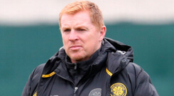 Football feast: Neil Lennon wants tonight's action to write its own headlines