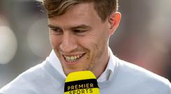 Good stuff: Andrew Trimble says Ulster play nice rugby