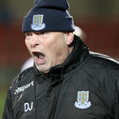 Shouting odds: David Jeffrey (pictured) wants his men to bounce back against Stephen Baxter and Crues
