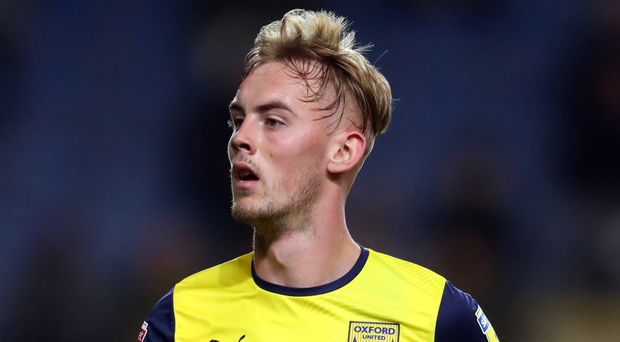 Rising star: Mark Sykes is loving life after becoming a first-team regular at Oxford