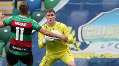 Safe hands: Rohan Ferguson is enjoying his spell at Windsor