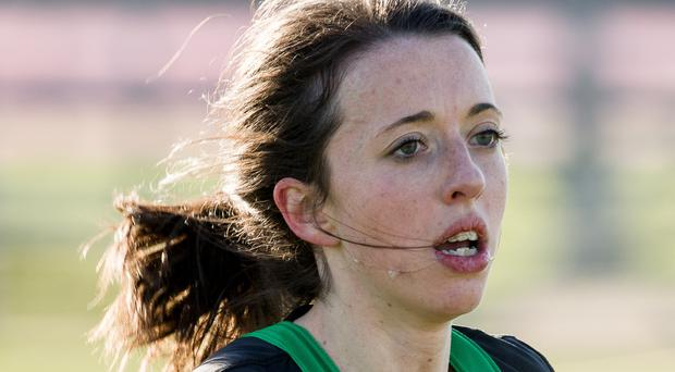 Big hope: Fionniala Ross is out to qualify in the senior 8k
