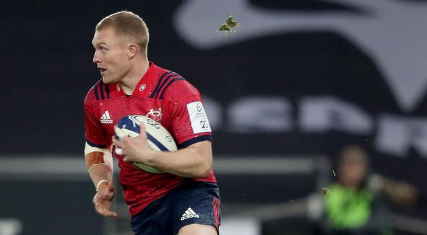 Standing tall: Keith Earls is proud of where he comes from