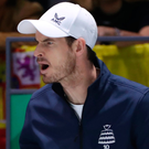 Hip hurrah: Andy Murray's feeling good