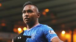 Staying put: Rangers have no plans to sell Alfredo Morelos