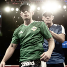 Full backing: Carl Frampton has the support of coach Jamie Moore