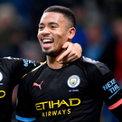 Two good: Gabriel Jesus hails his double against Burnley