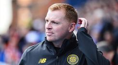 Bring it: Neil Lennon believes it will take a big performance to beat Celtic