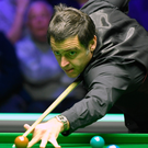 Top table: Ronnie O'Sullivan was a double winner