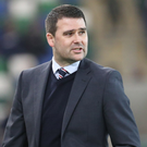 Switched on: David Healy is wary of the threat posed by Warrenpoint Town