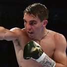 Moving forward: Michael Conlan feels he has a new edge to his attack for his fight against Vladimir Nikitin