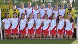 Champions: Ulster Under-18s won the inter-provincial hockey title with a superb 100 per cent record