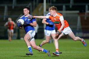 Battle stations: Gerard Smith accepts that Cavan face a massive challenge when they confront Dublin at Croke Park