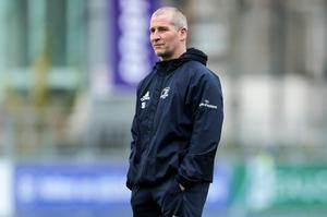 Tough time: Leinster's Stuart Lancaster calls for discipline