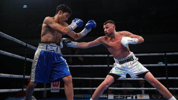 Moving forward: Sean McComb sparkles against Mauro Maximilian Godoy