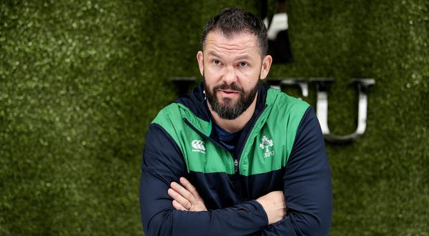 Progression demanded: Andy Farrell ready for Six Nations