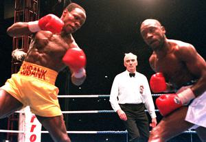 Benn had a long-standing rivalry with Chris Eubank during his original career (Sean Dempsey/PA)