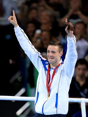 Josh Taylor won Commonwealth gold for Scotland at the Hydro in 2014