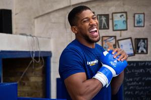 Joshua often returns to his club in Finchley (David Parry/PA)