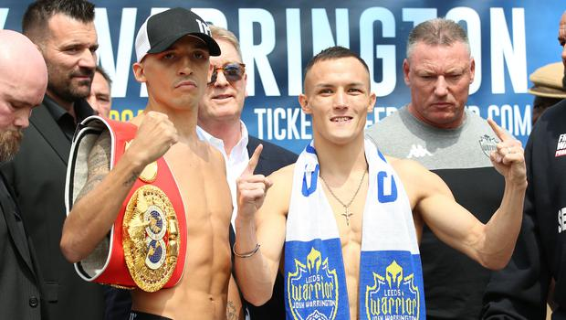 Lee Selby v Josh Warrington – Weigh-In – Leeds Civic Hall