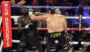 Reports claim Deontay Wilder's rematch clause has expired (Bradley Collyer/PA)