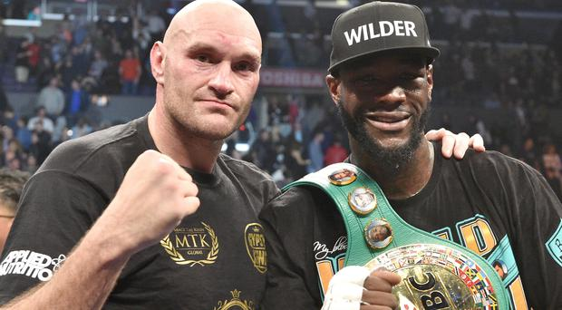 Deontay Wilder and Tyson Fury will fight again on February 22 (Lionel Hahn/PA)