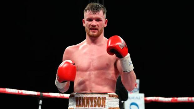 James Tennyson is in his first lightweight title fight