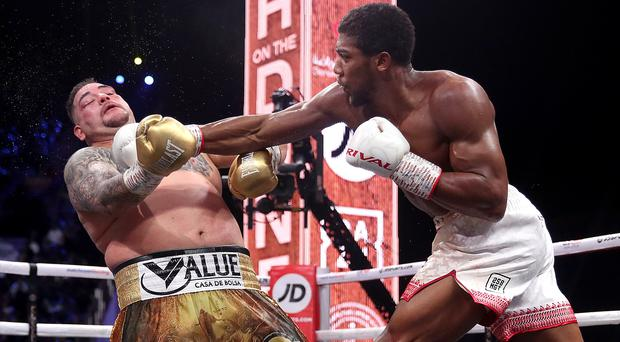 Anthony Joshua is set to have his next fight at the home ground of Premier League club Tottenham (Nick Potts/PA)