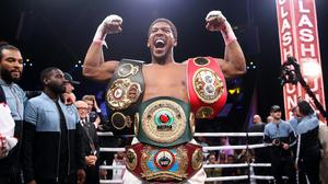 Anthony Joshua's most recent fight was last December (Nick Potts/PA)