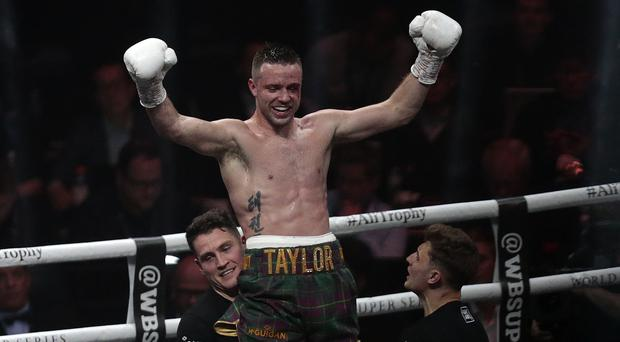 Josh Taylor is aiming to unify the super lightweight titles (Graham Stuart/PA)