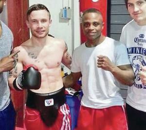 Carl Frampton has been sparring throughout his training with Isaac Dogboe