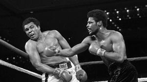Leon Spinks, who has died aged 67 in Henderson, Nevada, would never reach the same stratospheric heights again as when he defeated Muhammad Ali (AP)