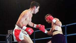 Joe Calzaghe defended his WBO super-middleweight title against Rick Thornberry (Huw Evans/PA)