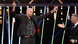 Tyson Fury will remain on the BBC Sports Personality of the Year shortlist (David Davies/PA)