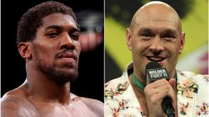 Anthony Joshua and Tyson Fury have agreed a two-fight deal, according to promoter Eddie Hearn (Nick Potts/Bradley Collyer/PA)