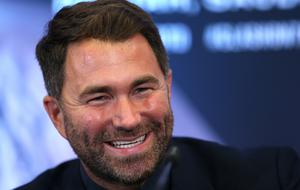 Eddie Hearn says a deal between the key parties for Anthony Joshua to fight Tyson Fury could be finalised within a couple of days (Steven Paston/PA)