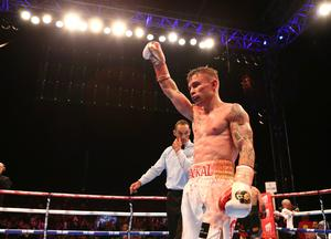 """Carl Frampton has said that he would be willing to take on an MMA star, but has said that it would """"have to be in the boxing ring""""."""