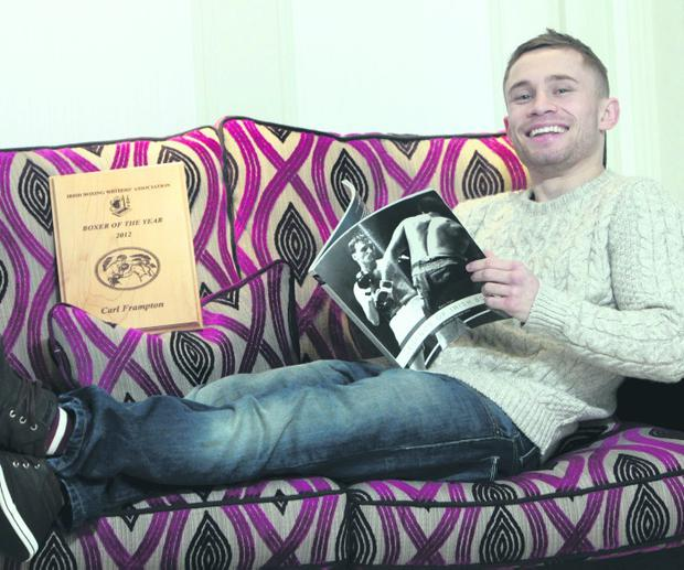 Carl Frampton relaxes ahead of his bout with Kiko Martinez
