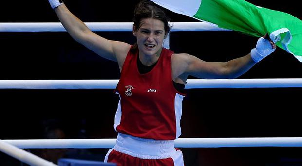 Katie Taylor's, pictured, bout with Karolina Graczyk marks the start of a busy week