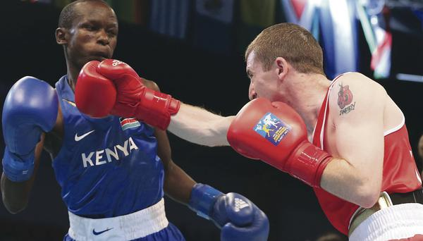 World bid: Paddy Barnes on way to victory over Simon Nzioki to book place in last eight in Kazakhstan