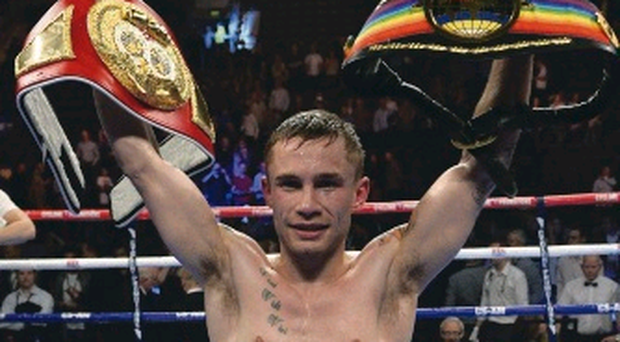 Wanted man: Carl Frampton