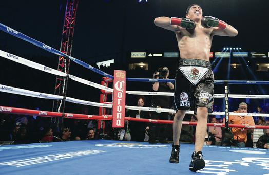 Leo Santa Cruz believes Carl Frampton will beat Hugo Cazares in April