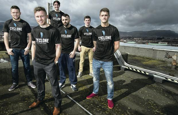 Team Cyclone: Barry McGuigan's stable, headed by Carl Frampton, are preparing to set the Odyssey Arena alight on April 4
