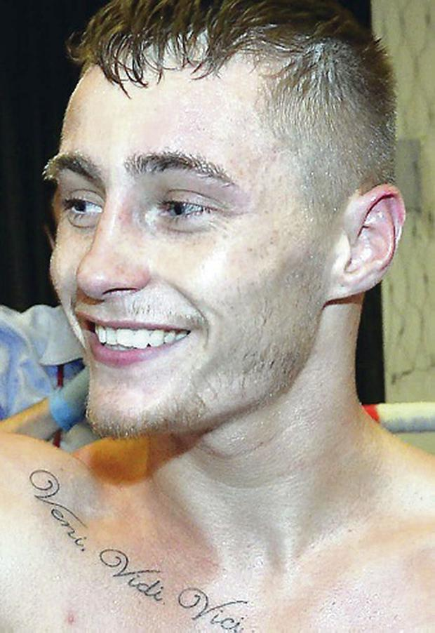 Going places: Belfast's Ryan Burnett is a star of the future