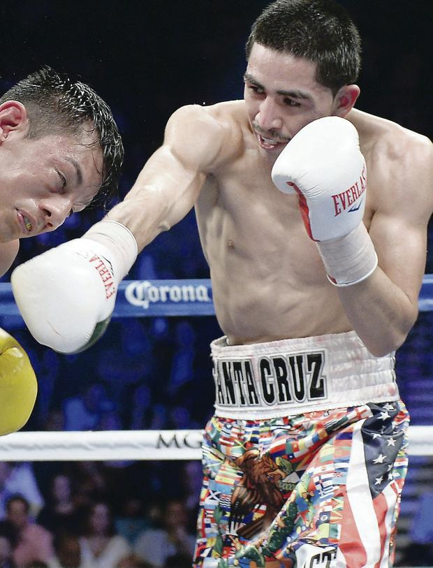 Confident traveller: Leo Santa Cruz has no fear of coming to Belfast to defend his super- bantamweight title against Carl Frampton