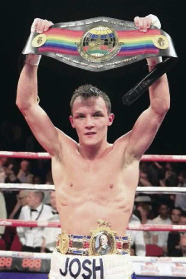Winner: Josh Warrington